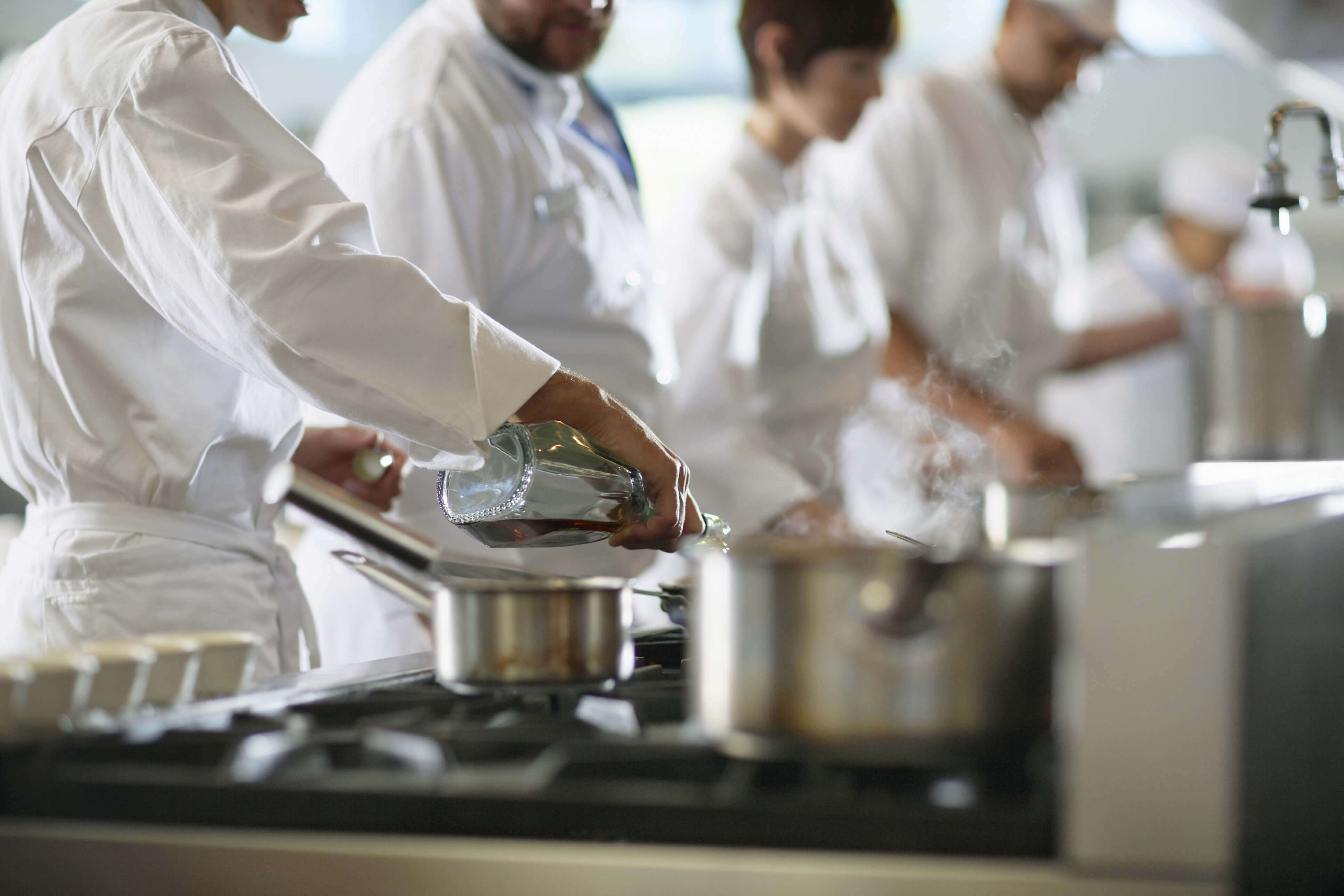 Chefs cooking for Catering Companies