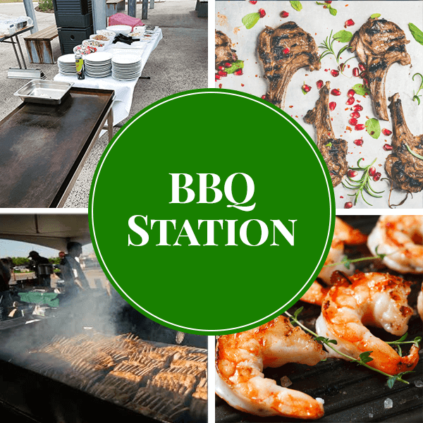 bbq live station catering sydney