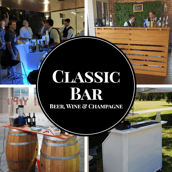 classic package mobile bar hire sydney