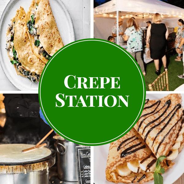 crepe live station catering sydney