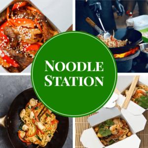 noodle live station catering sydney