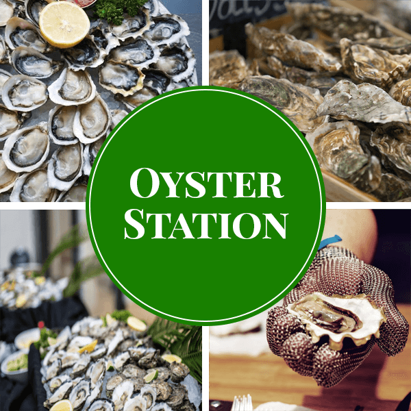 oyster live station catering sydney