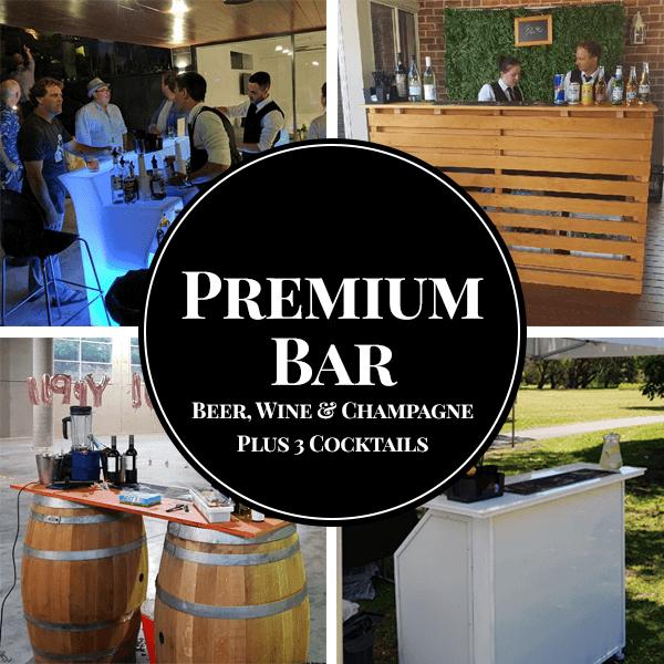 premium package mobile bar hire sydney