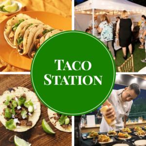 taco live station catering sydney