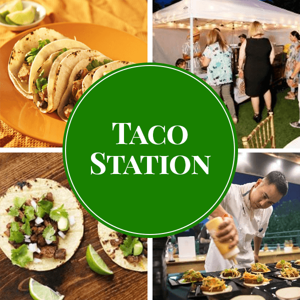 taco live station catering sydney