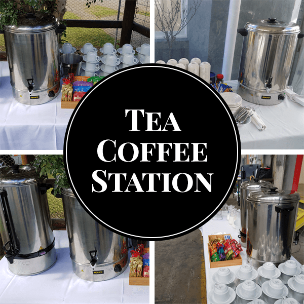 tea coffee station catering