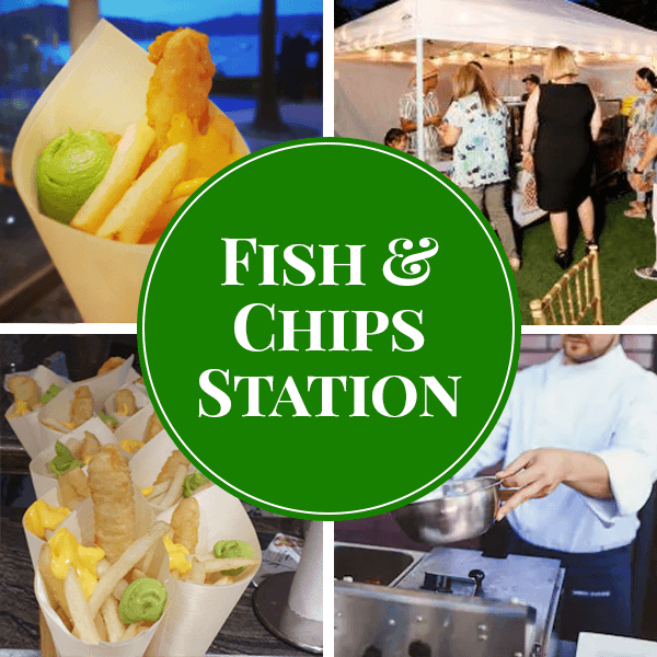fish chips live station catering sydney