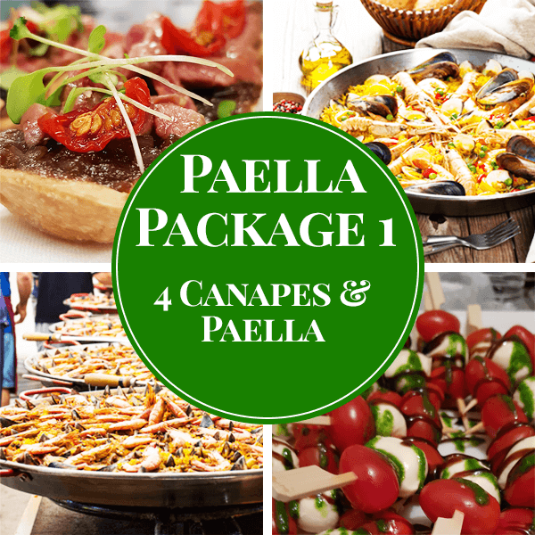 paella catering package 1 sydney hire a chef wedding birthday corporate celebration