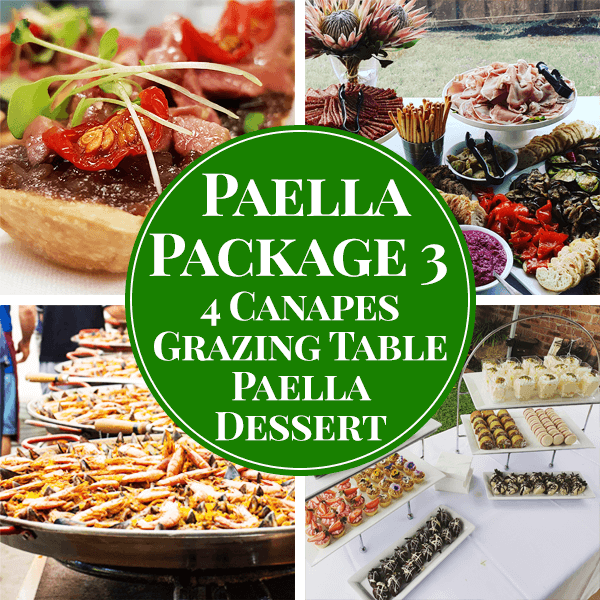 paella catering package 3 sydney hire a chef wedding birthday corporate celebration