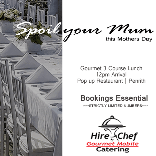 best mothers day lunch deals catering penrith restaurant buffet