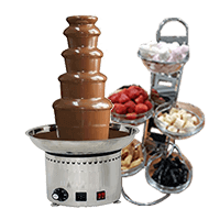 chocolate fountain dessert catering menus gourmet mobile hire a chef caterers sydney