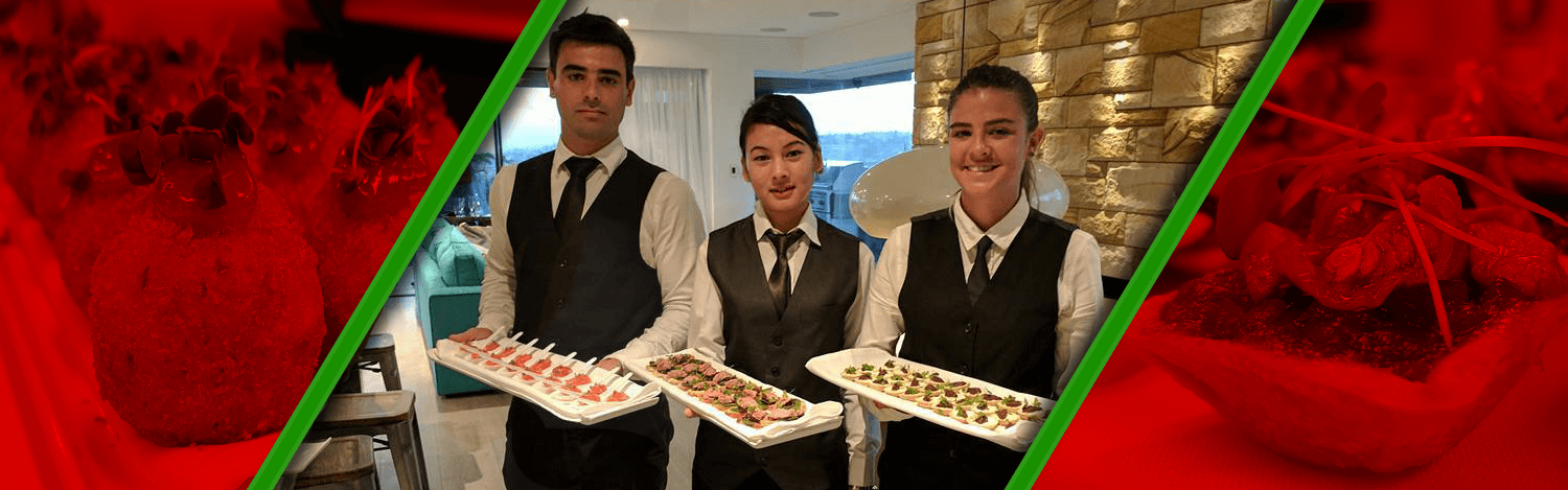 cocktail finger food service waiters canapes catering