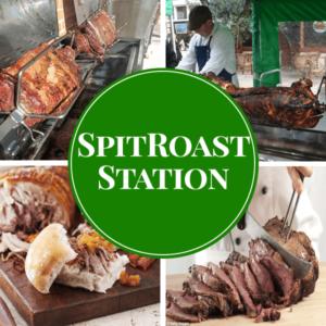 spit roast live station catering sydney