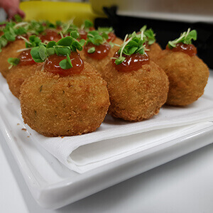 arancini canape event party birthday