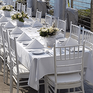chiavari table chair package hire event wedding brithday celebration