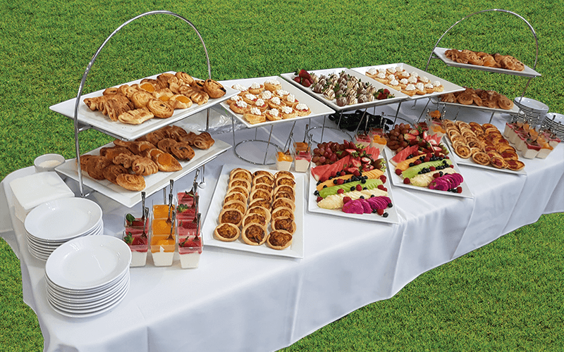 morning tea breakfast catering