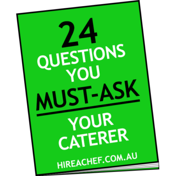 questions you must ask your caterer