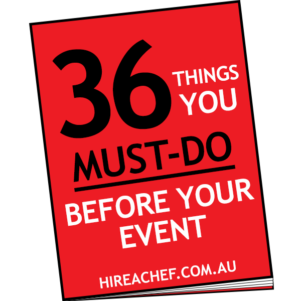 36 things you must do event checklist