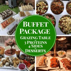 gourmet buffet package catering menu 3 sydney