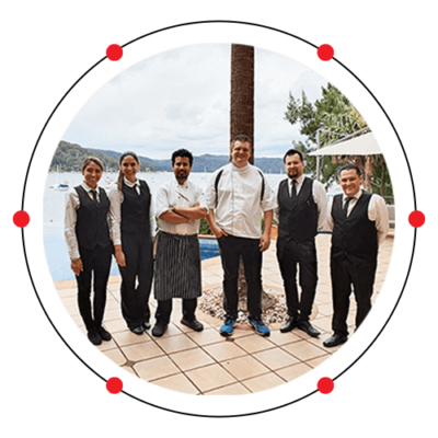 hire a chef catering party staff sydney