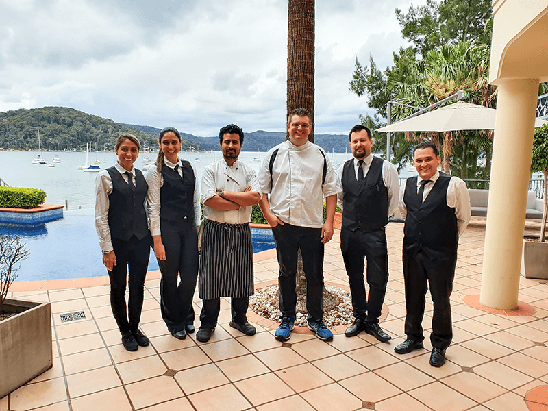 hire a chef events catering team chefs waiters sydney